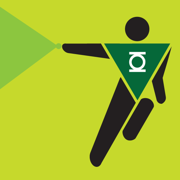 Green Lantern Pictogram