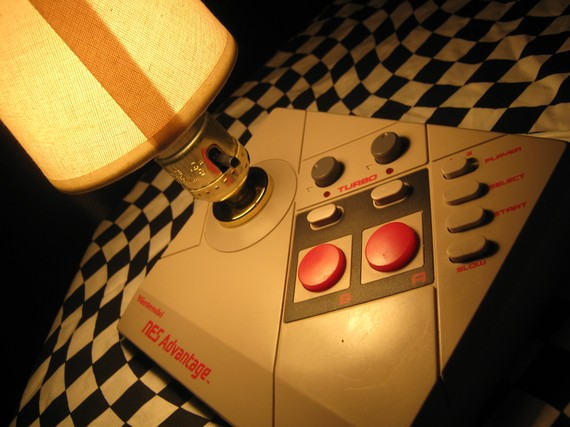 NES Joystick Lamp 3