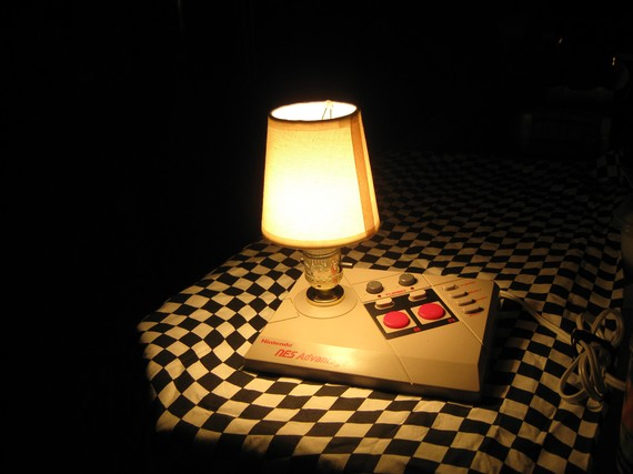 NES Joystick Lamp 4