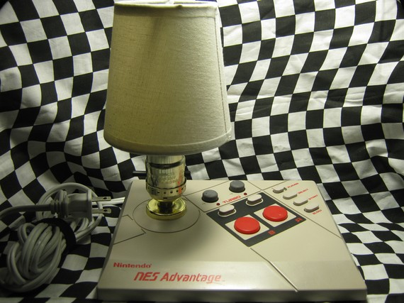 NES Joystick Lamp
