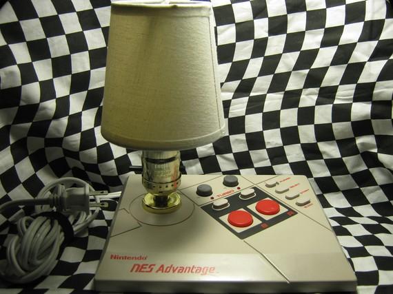NES Joystick Lamp