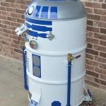 R2-D2 Smoker BBQ 2