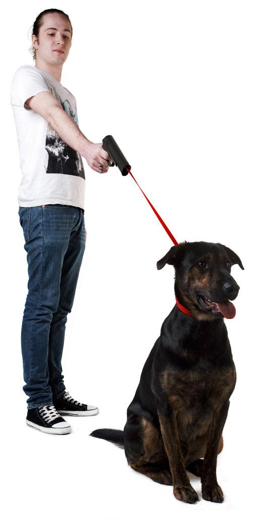 Retractable Dog Snap Leash 3