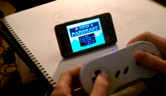SNES Bluetooth Android Controller