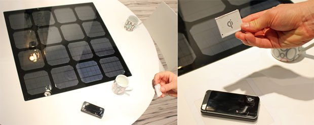 Solar Charging Table 2