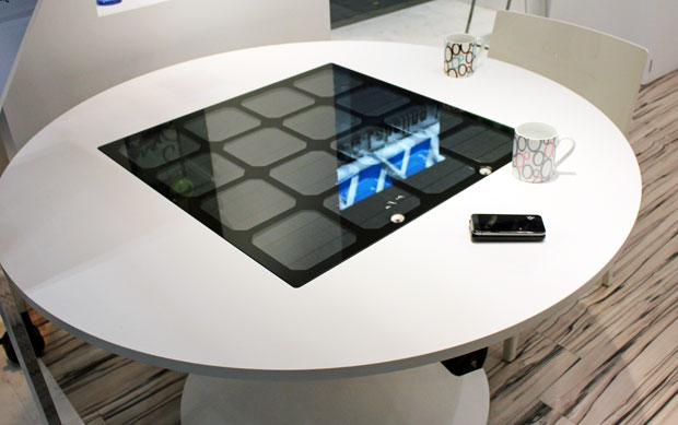 Solar Charging Table