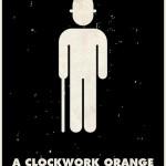 Stanley Kubrick Pictogram Clockwork Orange