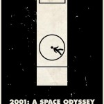 Stanley Kubrick Pictogram Space Odessey 2001