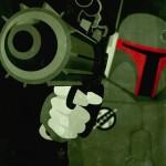 Star Wars Propaganda Poster Boba