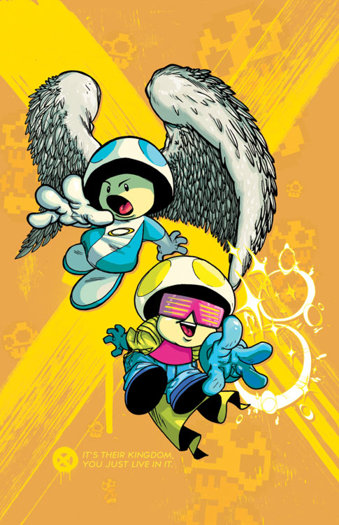 Toads as Angel and Jubilee