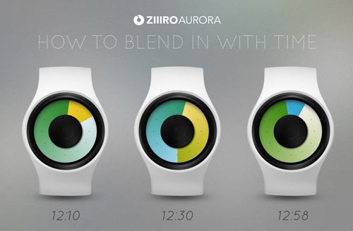 Ziiiro Aurora Watches