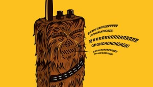 chewbacca wookie talkie