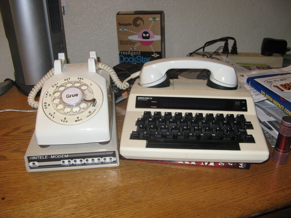 Zork on a rotary phone