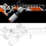 district 9 papercraft gun 6