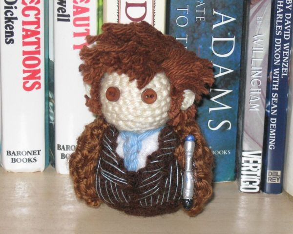 doctor who 10th doctor amigurumi