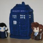 doctor who tardis amigurumi