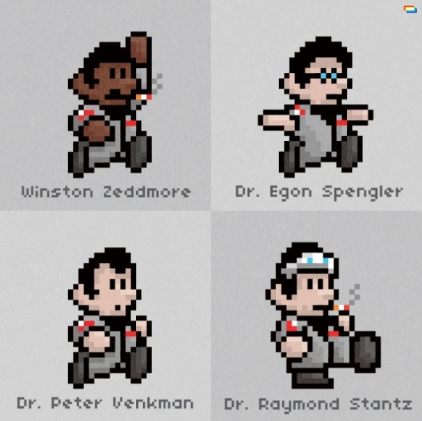 ghostbusters super mario bros