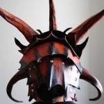 Leather Helm Back