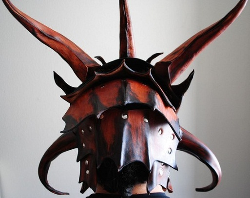 Leather Helm