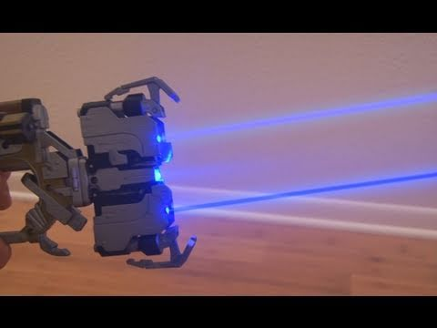 DIY dead space 2 laser gun