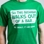 Irishman Walks Out