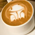 latte art boba fett
