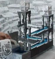 mc escher waterfall illusion video solution