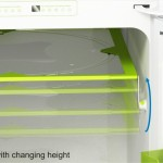 Nord Fridge Concept Adjustable Shelf