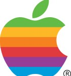oldschool apple logo