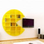 pac-man-bookcase