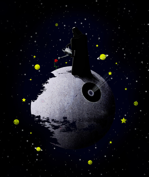 the little prince darth vader