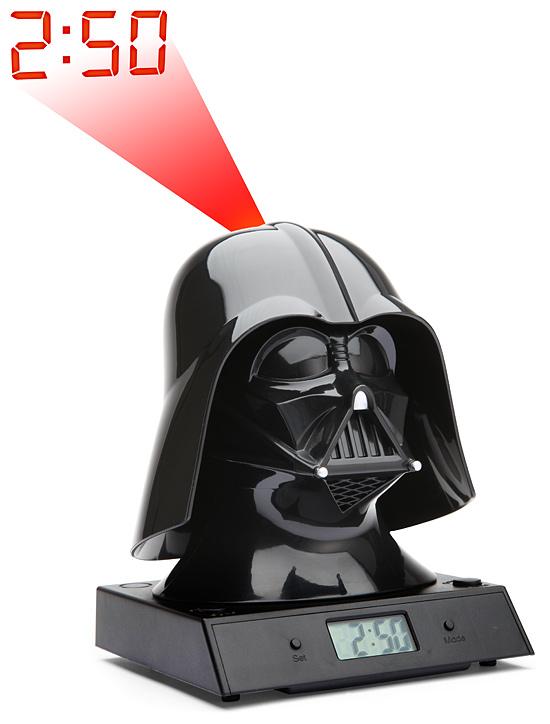 Darth Vader Projecting Alarm Clock