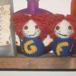 weasley twins amigurumi