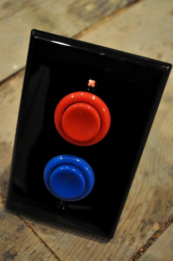 Arcade Button Light Switch 2