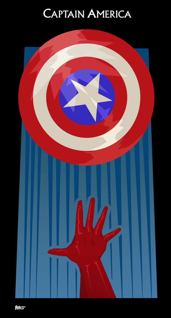 Captain America Avengers Poster