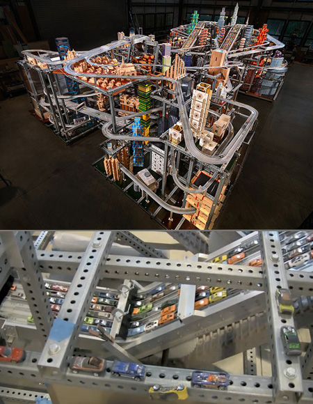 Metropolis II Hot Wheels Track