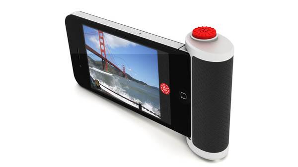 Red Pop iPhone Camera Attachment