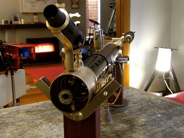 Steampunk Sub-Machine Gun 2