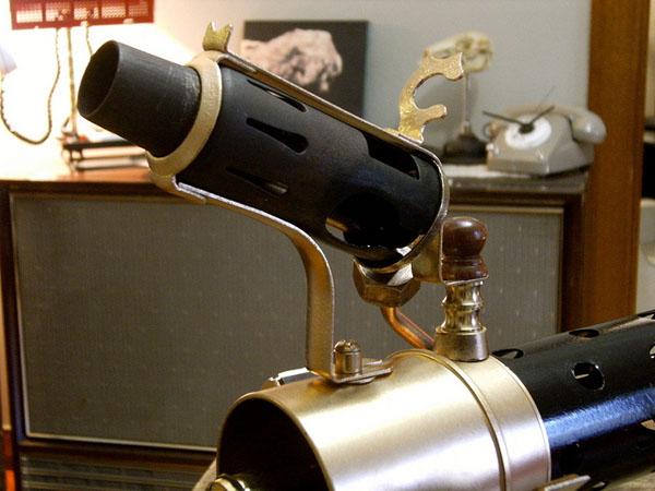 Steampunk Sub-Machine Gun 3