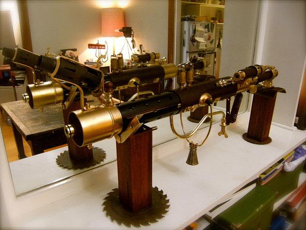 Steampunk Sub-Machine Gun 4