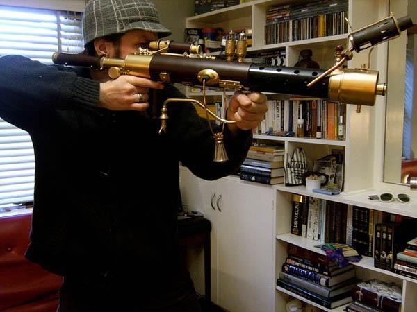 Steampunk Sub-Machine Gun 7