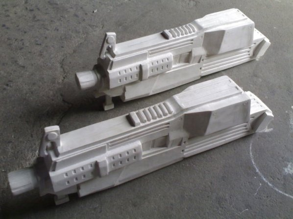 War machine gun white 1