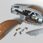 Wood and Metal PC Mouse 3