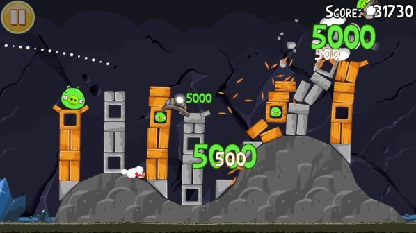 angry birds mine and dine android app update