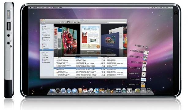 apple tablet design