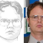ascii art dwight schrute