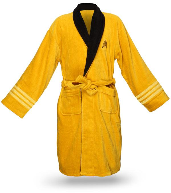 fathers day gift ideas star trek bath robe 2011