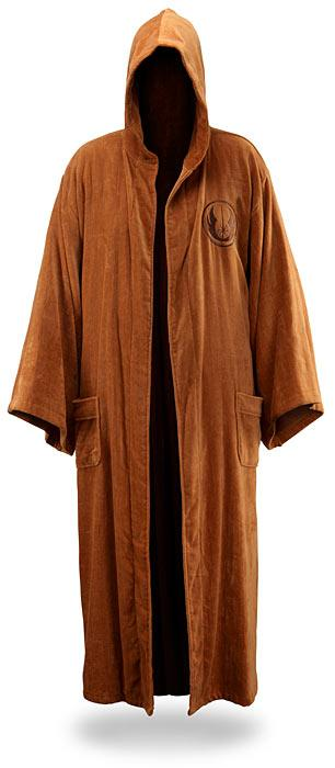 fathers day gift ideas star wars jedi bath robe 2011