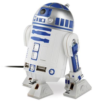 fathers day gift ideas star wars r2d2 usb hub 2011