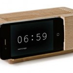 fathers day gift ideas wooden iphone dock 2011